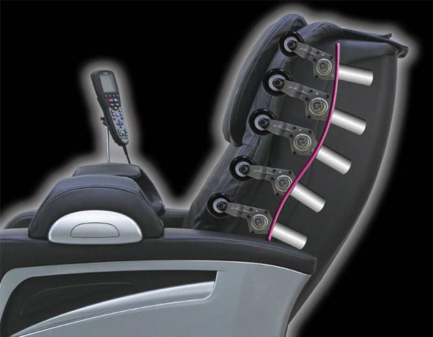 Rouleaux fauteuil massant