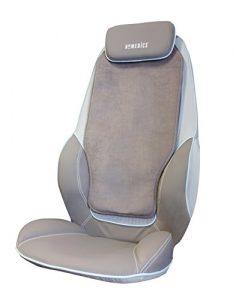 HOMEDICS Siège de massage shiatsu et par roulement pour le dos et les épaules CBS-1000