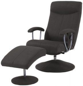 Sino-Living SE-901 Fauteuil de Massage avec Repose-pied – Similicuir – Moka