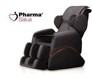 Fauteuil de massage thérapeutique avec coussins d'air pharmasalus PS551Noir