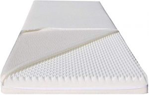 Dinaflex Matelas MDF 180x185x11 en Dessous du Prix,Confort Relax WATERFOAM, ORTHOPÉDIQUE, Made in Germany