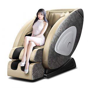 GYS-SL5 4D Robot Fauteuil De Massage Sofa, Multifonctionnel Chaleur Chauffage Pétrissage Masseur Zero Gravity Luxury-Chair Personnes Agées Bureau Automatique
