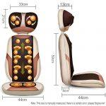 HGJDKSJ Oreiller de Massage Strength, Coussin de Massage Combiné Multifonctionnel avec Angle Et Hauteur Réglables pour La Relaxation Musculaire Et Le Soulagement de La Douleur