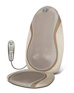 HOMEDICS -SGM-425H-Siège de massage shiatsu et par roulement avec têtes de massage en gel