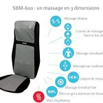 HOMEDICS-SBM-600H- Siège de massage shiatsu et par roulement pour le dos et les épaules
