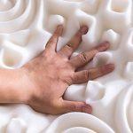 NOFFA 10 Zones sur-Matelas en Mousse à mémoire -Design Ergonomique -Très Respirant – soulager la Douleur (140 x 190 cm)
