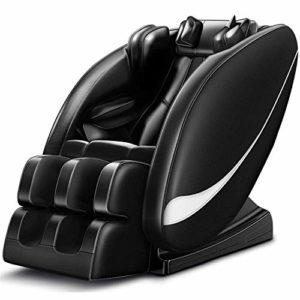 TYZXR Fauteuil de Massage Complet du Corps, Fauteuil inclinable Automatique Multi-Fonctions, Soulager la tête, la Jambe, la Taille, Pied, Cou, Douleur Musculaire, Noir