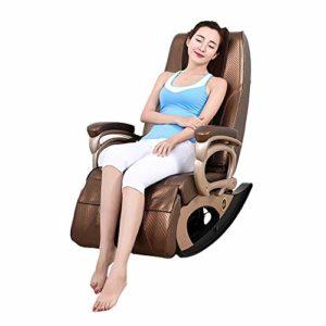 Dafa Fauteuil de Massage, Masseur Multifonctionnel de santé, approprié aux Jambes, au Cou, à la tête, au Dos basculant Le Chauffage Fonction