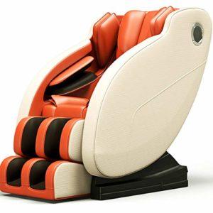 Dafa Fauteuil de Relaxation en Fauteuil de Massage Complet du Corps Intelligent -Système de Massage Automatique -Masseur de canapé Multifonctionnel de Luxe,Orange