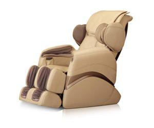 Fauteuil de massage «Deluxe» pour votre bien-être–Beige–Fauteuil de télévision médical et chaise de massage Version de luxe pour une détente parfaite