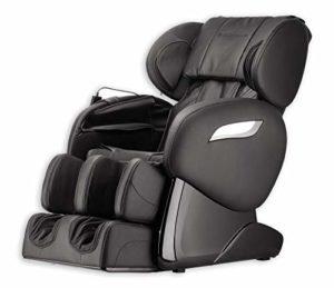 Home Deluxe Sueno V2 Fauteuil de massage avec accessoires inclus Noir