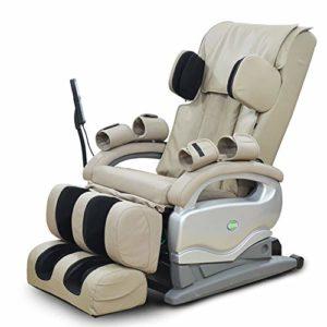 Honghong Fauteuil de Massage Intelligent pour Tout Le Corps Fauteuil de Relaxation – Système de Massage Automatique – Gravité zéro – Chauffage – Sofa électrique