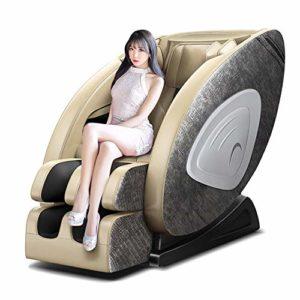 Honghong GYS-SL5 4D Robot Fauteuil De Massage Sofa, Multifonctionnel Chaleur Chauffage Pétrissage Masseur Zero Gravity Luxury-Chair Personnes Agées Bureau Automatique