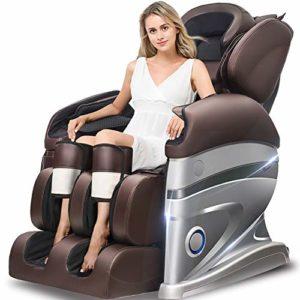 Honghong YJ838-3I Fauteuil de Massage électrique, Son ambiophonique 3D – Appareils de Massage de l'air – Gravité zéro – Massage par la Chaleur dans Le Massage par pétrissage