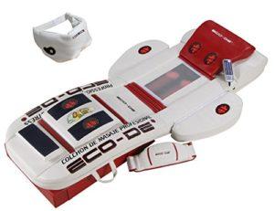 Matelas de massage Shiatsu professionnelle avec vibration, reflexoterapia e infrarouge eco-980-g
