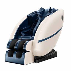 Wheel-hy Fauteuil de Massage Professionnel et Fauteuil de Relaxation, Fauteuil inclinable en 3D pour Le Massage du Corps Entier, Gravité zéro – Massage par la Chaleur dans Le Dos
