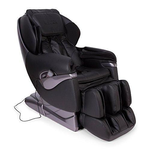 SAMSARA® Fauteuil de massage 2D – Noir (mod. 2020) – Fauteuil relax Shiatsu 5 modes de massage – Gravité zéro, presión de l'air et chaleur – USB – Garantie Officielle 2 ANS