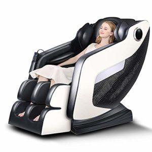 YXRPK Air Arm Masseur Zero Gravity Fauteuil de Massage Shiatsu avec Bluetooth Recliner Zero Gravity Design Hanche Chauffage Massage des Pieds Pression d'air Entier