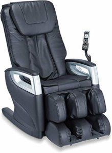 Beurer MC 5000 Deluxe Fauteuil de massage, repose-pieds, dossier automatique, fonction de scan du corps, massage complet du corps, 5 types de massage