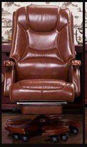 BOOSSONGKANG Chaise Fauteuil de Patron à Domicile Fauteuil de Massage en Cuir, 03