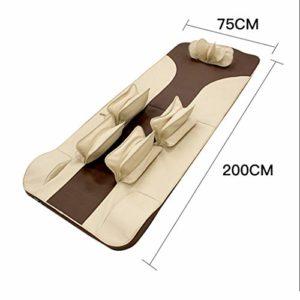 Matelas de Massage électrique Coussin de Massage Complet du Corps Massager Pliable Multifonctions (200 * 75cm)