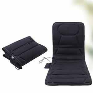 GAOword Matelas De Massage Multifonctionnel Électrique du Corps Entier Masseur De Chauffage De Vibration De Voiture À La Maison