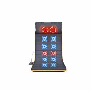 Jia He Fauteuil massant Coussin de Massage Multifonctionnel de Corps de Massager à la Maison de Chauffage électrique de lit de Taille de lit de Taille de Chauffage de Vibration électrique Intelligent