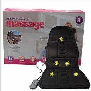Lorenlli Matelas de Massage Coussin de télécommande Chauffant pour Tout Le Corps