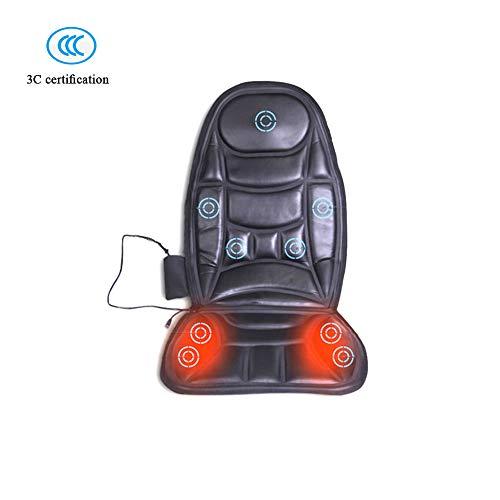 Massage Du Dos Siège De Massage Coussin Massant Avec Chauffant Pour Rouleau Au Dos Complet Pour Domicile Bureau Voiture/B