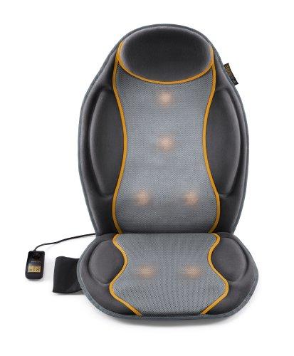 Medisana MC 810 housse de siège de voiture, housse de massage avec massage par vibrations, 9 programmes de massage, housse de siège de massage avec 3 intensités, pour les épaules