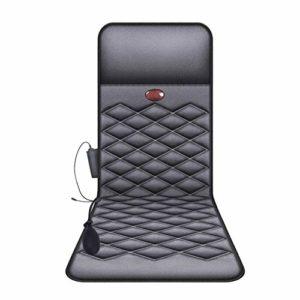 QYCloud Masseur de Colonne cervicale, Cou, Taille et Dos d'instrument électrique Multifonctionnel de Corps Entier, Matelas de Massage à Domicile, Chaise de Massage Cushio