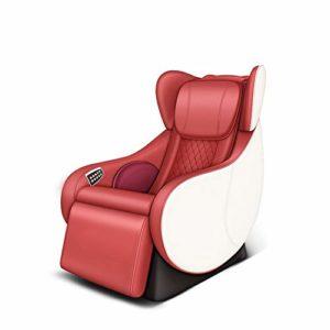 WSN Mini Fauteuil de Massage électrique Fauteuil de salonPétrissage Automatique du Corps Masseur Intelligent 3D Multifonctions Conçu pour Les Femmes