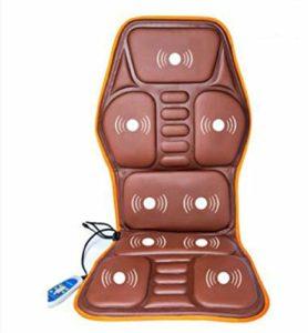 Chaise de massage LKU Matelas de massage électrique masseur de colonne vertébrale cervicale cou dos jambe corps entier massage à domicile, b, 110 v