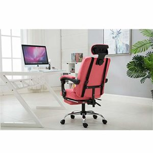 Jianghuayunchuanri Chaise de Bureau d'ordinateur Chaise Informatique Chaise électronique Sport Fauteuil de Bureau Ergonomique Reclining Levage Fauteuil de Massage pivotant pour Office