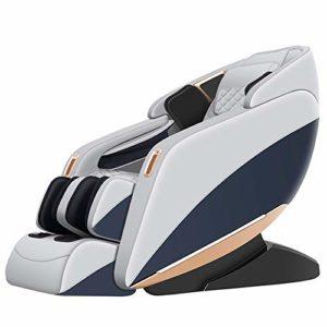 PXX Voix Massage Chaise Accueil Petit Multifonctions Électrique Canapé Automatique Zéro La Gravité Espace Capsule Paresseux Massage Chaise Siege Massant Shiatsu/blanc