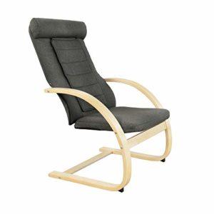 Medisana RC 410 Fauteuil relax avec fonction de massage Shiatsu, fauteuil de massage avec fonction de chaleur, massage ponctuel, fauteuil pivotant avec facteur de bien-être