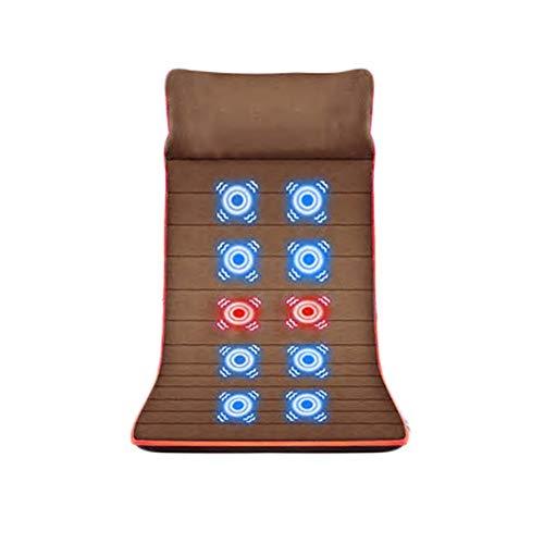 Bixialan Tapis de Massage Full Body Massage Matelas Multi-Fonctionnel de Chauffage des ménages Massage Matelas Mat Coussin de Massage Matelas de Massage (Color : Picture, Size : 175x62cm)