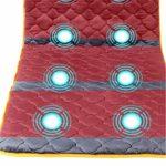 Bixialan Tapis de Massage Massage Multi-Fonction Corps Cou épaule Taille Back Full Body Massage Coussin Massage Matelas Couverture chauffante Tapis Coussin de Massage Matelas de Massage