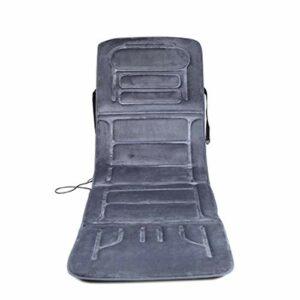 Matelas de massage chauffant for le corps domestique | Masseur de thermothérapie | Coussin de massage électrique for le dos | Tapis avec malaxage et vibration des tissus profonds for le soulagement de