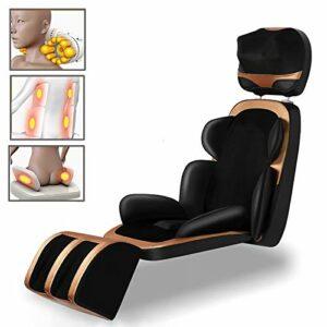 QGUO Siège Massant 8D – EL-5582C- Masseur de Dos Shiatsu avec Chaleur, Chaise Massage de Pétrissage pour Le Dos, Le Cou et Les épaules, Soulagement de la Douleur