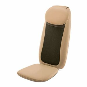 Ergonomique Coussin De Siège De Massage,Masseur De Dos Avec Heat 3D Pétrissage Garniture De Chaise De Massage Chaise De Massage Pour Accueil Bureau Chaise Masseurs-A 36×70cm