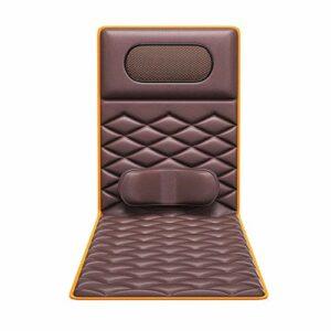 FZC-YM Matelas de Massage Complet du Corps, Tapis de Massage Shiatsu Multifonction avec Tapis de Massage électrique Thermique pour Couverture de Coussin de Chaise pour Corps apaisant