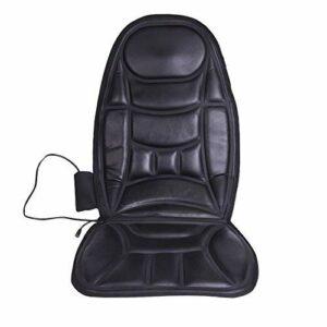 JSMY Coussin de siège de Massage de Voiture de Vibration pour Le Dos Complet de Massage de Cuisse de Coussin de siège de Coussin de Coussin de Masseur avec 9 Vibrations de Moteur 8 Modes 5 foncti
