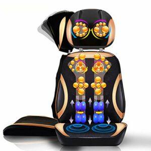 SXFYMWY Siege Massant De Massage Dos avec Chaleur – Siege Massant pour Massage du Cou Et du Dos dans Le Bureau À Domicile