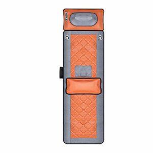 InLoveArts Tapis de massage avec chaleur, Massage du dos siège de massage avec Haut-parleurs Bluetooth, pour tout le corps 20 têtes de massage par acupression du cou et de la tête
