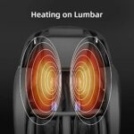 iRest 2021 Fauteuil de massage, inclinable Zero Gravity, mains robotiques 3D avec piste SL, massage de la colonne vertébrale Shiatsu, haut-parleur Bluetooth, rouleau de massage