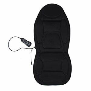 Siège de Massage Pad chaleur vibrer dos douleur au cou taille chaise coussin dos masseur pour la chaleur soulager le stress et la fatigue