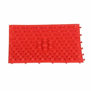 SUPVOX Matelas de massage réflexologie pour la circulation sanguine tapis de réflexologie pour la circulation sanguine pied (rouge)
