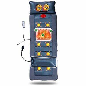 TIANYOU Matelas de Massage Électrique Multifonctionnel, Tampon Chauffant Avec Massage de 20 Coucoint Et Malaxage Têtes de Massage, Masseur de Corps Complet Mettre à niveau la techno