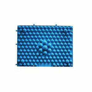 SUPVOX Matelas de massage pour pieds réflexologie plaque de soins de santé pour la circulation sanguine réflexologie pour pieds (bleu)